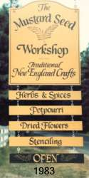 The Mustard Seed Workshop - Established 1983